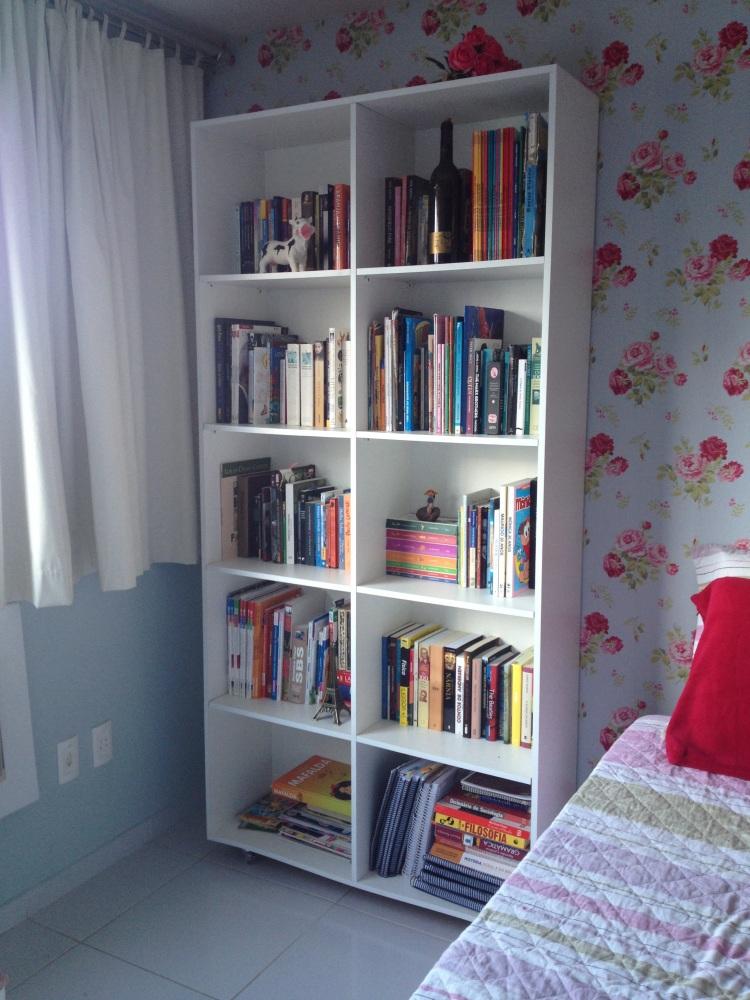 Minha estante de livros (ou livros, em geral)