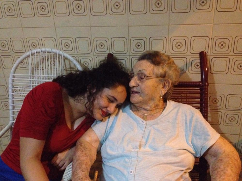 Foto tirada por mamãe na semana santa deste ano, última vez que vi Vovó Dulce.