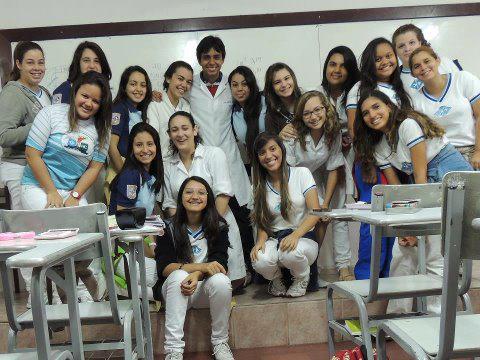 Minha turma do nono ano, em 2014, na Escola Doméstica... Saudades!